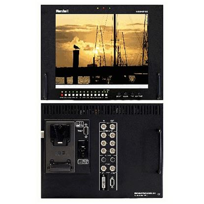 Picture of V-R104DP-SD Stand alone 10.4' LCD Monitor with Multiformat inputs